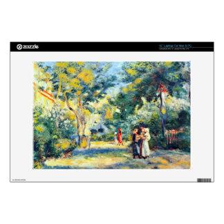 """A Garden in Montmartre by Pierre Renoir Skins For 13"""" Laptops"""