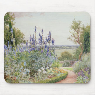 A Garden Near the Thames (w/c) Mouse Pad