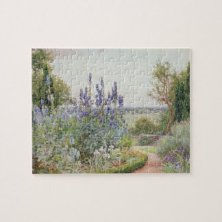 A Garden Near the Thames (w/c) Jigsaw Puzzles