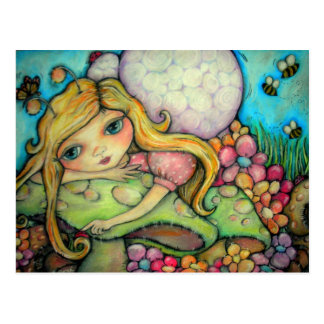 A Garden of Fairy Delights Postcard