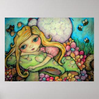 A Garden of Fairy Delights Poster