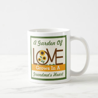 A Garden of Love Grows in a Grandma's Heart Mug