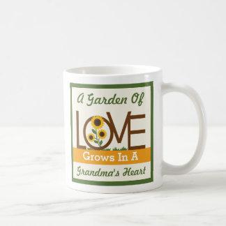 A Garden of Love Grows in a Grandma's Heart Mug