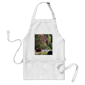 A Garden of Serenity and Peace Adult Apron
