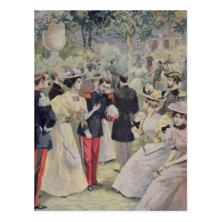 A Garden party at the Elysee Postcard