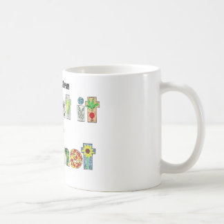 A Garden, Plant it for the Planet, earthday slogan Coffee Mug