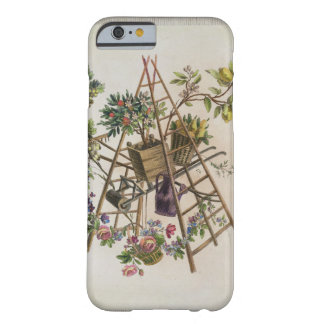 A garden textile design , from 'Oeuvre contenant u Barely There iPhone 6 Case