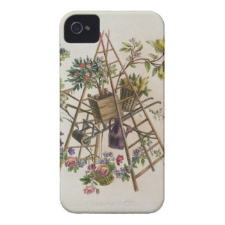 A garden textile design , from 'Oeuvre contenant u Case-Mate iPhone 4 Case