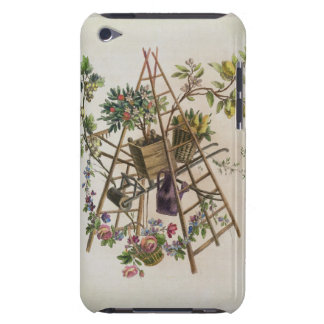 A garden textile design , from 'Oeuvre contenant u Case-Mate iPod Touch Case