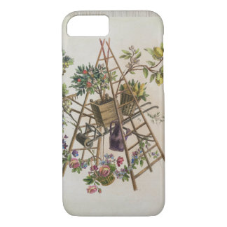 A garden textile design , from 'Oeuvre contenant u iPhone 8/7 Case
