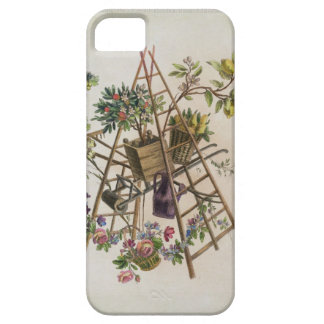 A garden textile design , from 'Oeuvre contenant u iPhone SE/5/5s Case