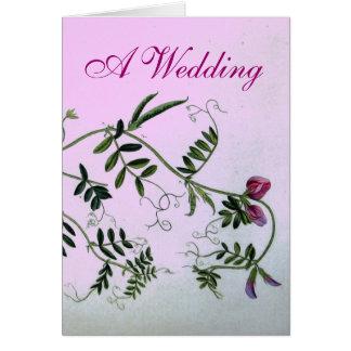 A Garden Wedding Invitation