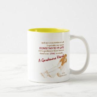 A Gardeners Heart-Positive, Uplifting Poetry Mug