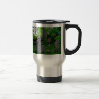 A Gardens Rest Travel Mug