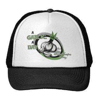 A garlic a day keeps vampires away- Cap Trucker Hat