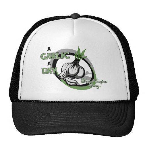 A garlic a day keeps vampires away- Cap Trucker Hat