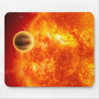 A gas-giant exoplanet mouse pad