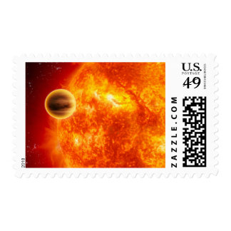 A gas-giant exoplanet stamp