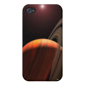 A gas giant planet orbiting a red dwarf iPhone 4 covers