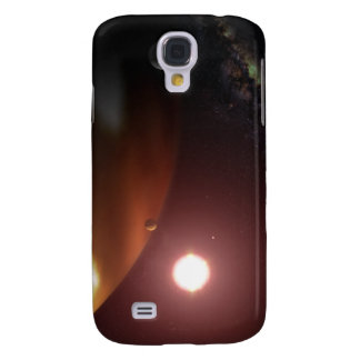 A gas giant planet orbiting a red dwarf star samsung galaxy s4 cover