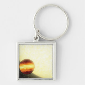 A gas-giant planet orbiting very close keychain