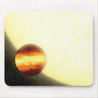 A gas-giant planet orbiting very close mouse pad