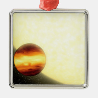 A gas-giant planet orbiting very close christmas ornaments