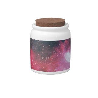 A Gaseous Nebula Candy Dishes