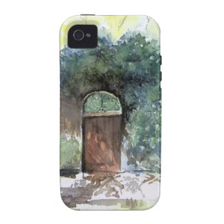 A Gate - Englis House Estate, Ann Arbor Michigan iPhone 4 Case