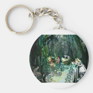 A GATHERING FOR TEA WITH ALICE jpg Keychains