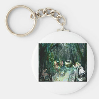 A GATHERING FOR TEA WITH ALICE jpg Key Chain