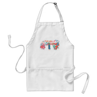 A Gathering of Bunnies Adult Apron