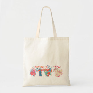 A Gathering of Bunnies Tote Bag