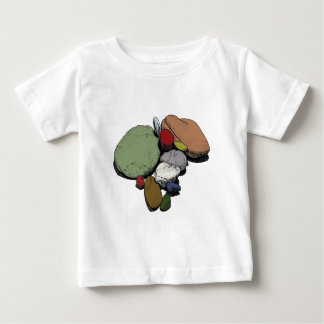 A Gathering of Coloured Stones Tees