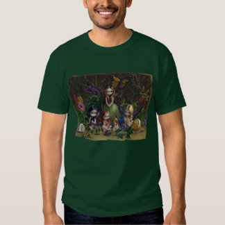 A Gathering of Faeries gothic fairy Shirt
