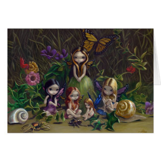 """""""A Gathering of Faeries"""" Greeting Card"""