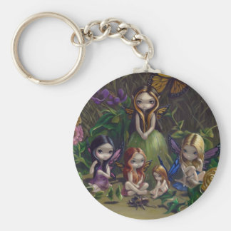 """A Gathering of Faeries"" Keychain"