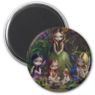 """A Gathering of Faeries"" Magnet"