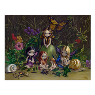 """""""A Gathering of Faeries"""" Postcard"""