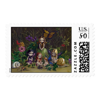 """""""A Gathering of Faeries"""" Stamp"""