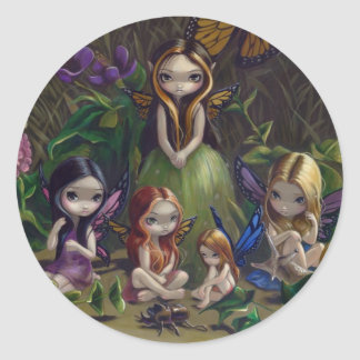 """""""A Gathering of Faeries"""" Sticker"""