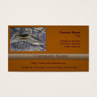 A Gator's Eye Business Card