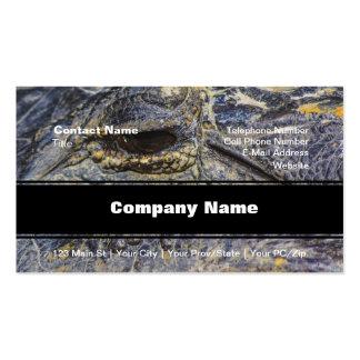 A Gator's Eye Business Card Template