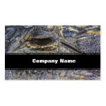 A Gator's Eye Business Cards