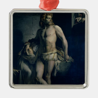 A Gaul and his Daughter Imprisoned in Rome, 1847 Metal Ornament