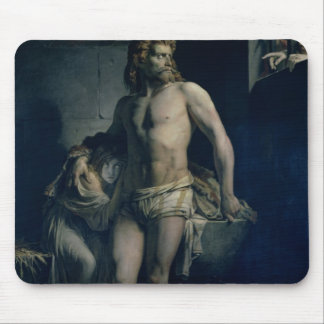 A Gaul and his Daughter Imprisoned in Rome, 1847 Mouse Pad