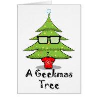 A Geekmas Tree Cards