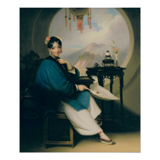 A Geisha Girl Poster