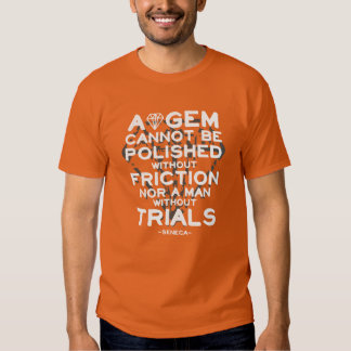 A gem cannot be polished without friction T-Shirt