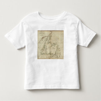 A General Chart Of The Island Of Newfoundland Tshirt